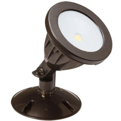 Wall-Mount Outdoor Dark Bronze LED Flood Light