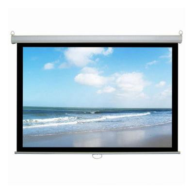 100 in. Manual Projector Screen