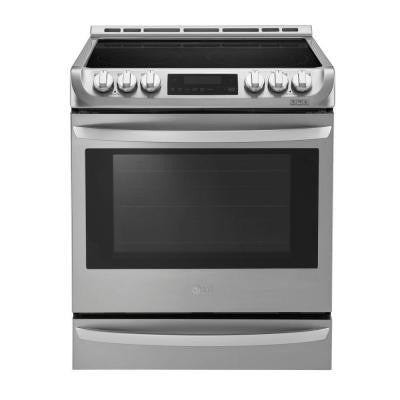 6.3 cu. ft. Electric Slide in Range with ProBake Convection