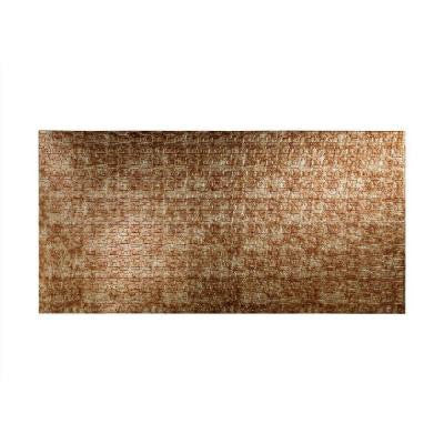 Connect 96 in. x 48 in. Decorative Wall Panel in Bermuda Bronze