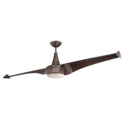 Charmed 68 in. Byzantine Bronze Indoor Ceiling Fan