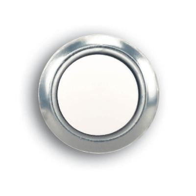 Wired Lighted Door Bell Push Button Insert - Nickel