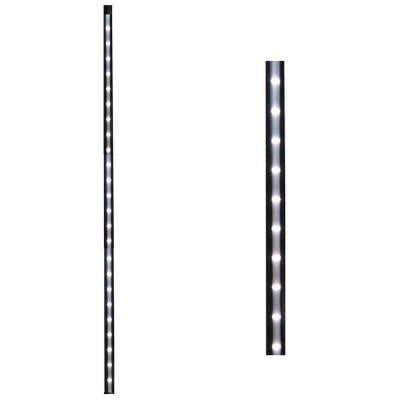 26 in. Black Linear Lighted Baluster (2-Pack)