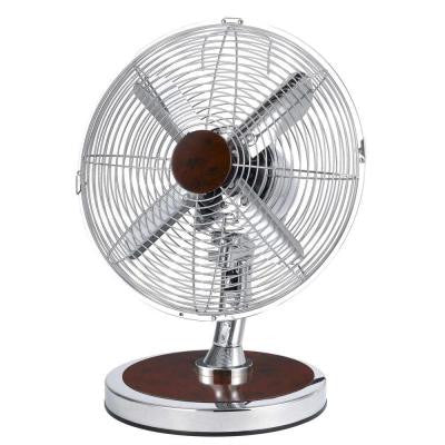 12 in. Oscillating Fashion Table Fan