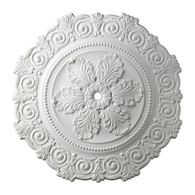 Marietta 33 in. White Ceiling Medallion