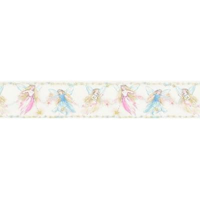 4 in. Cottingley Yellow Fairies Border