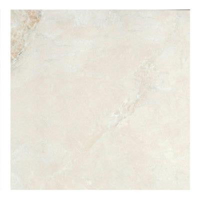 Yukon Ivory 22.4 in. x 22.4 in. Stoneware Floor and Wall Tile (10.55 sq. ft. / case)