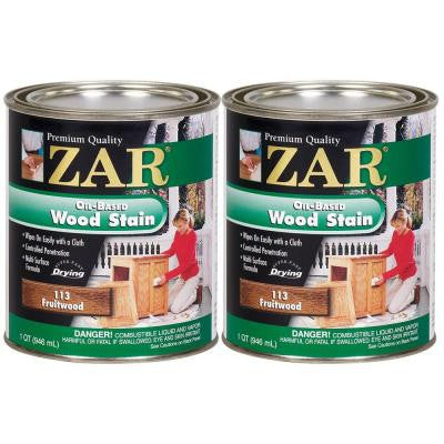 113 1-qt. Fruitwood Wood Stain (2-Pack)