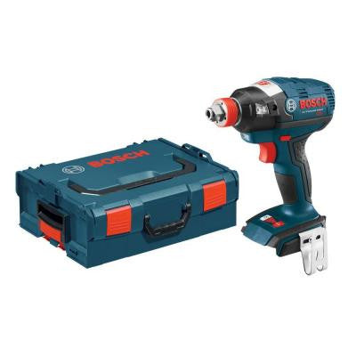 18-Volt Lithium-Ion Cordless 1/4 in. Hex and 1/2 in. Square Drive EC Brushless Socket Ready Impact Driver with L-BOXX-2