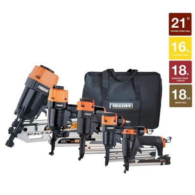 Framing/Finish Combo Nail Gun Kit (5-Piece)