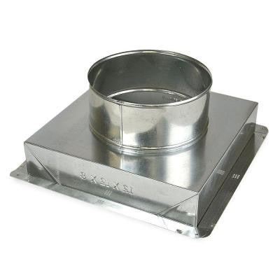10 in. x 10 in. to 8 in. Ceiling Register Box