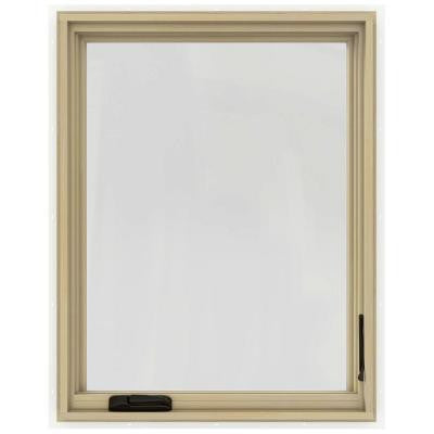 28.75 in. x 36.75 in. W-2500 Left-Hand Casement Wood Window