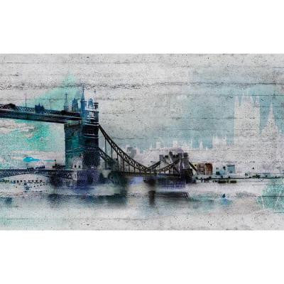 50 in. x 145 in. London Wall Mural