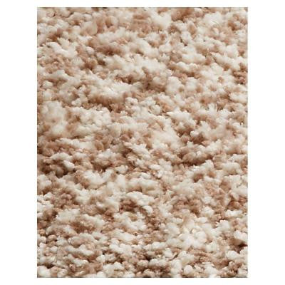 Cushy Shag Ivory Heather 2 ft. 3 in. x 3 ft. 9 in. Area Rug