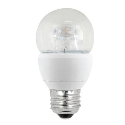 60W Equivalent Soft White A15 Medium Base Dimmable LED Light Bulb (4-Pack per Case)