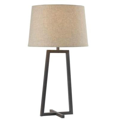 Ranger 28 in. Oil-Rubbed Bronze Table Lamp
