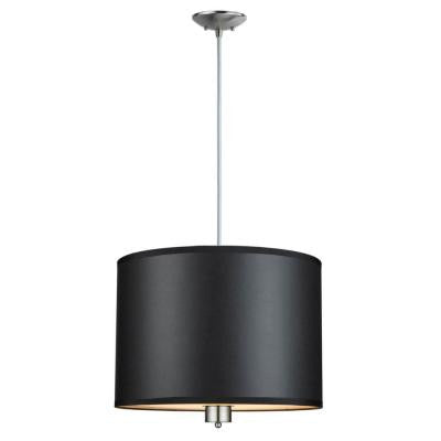 Murray 3-Light Brushed Nickel Pendant