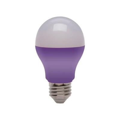 25W Equivalent A19 LED Light Bulb - Purple