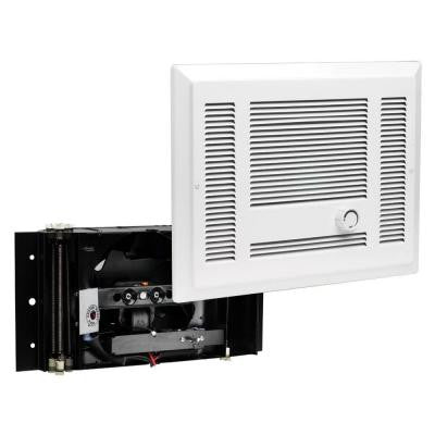 SL Series 2,500-Watt 240-Volt Electric In-Wall Fan Heater White
