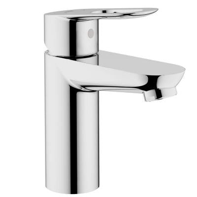 BauLoop Single Hole Single Handle Low Arc Bathroom Faucet in StarLight Chrome