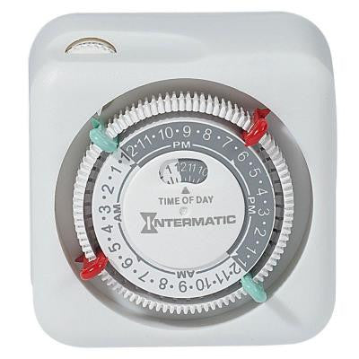 15-Amp Plug-In Lamp and Appliance Timer - White