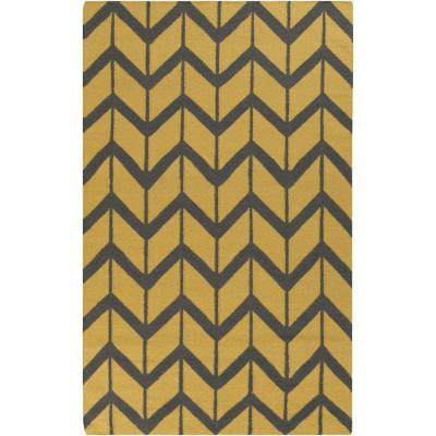 Fallon Gold 5 ft. x 8 ft. Indoor Area Rug