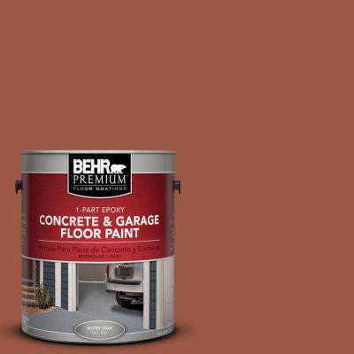 1-Gal. #PFC-15 Santa Fe 1-Part Epoxy Concrete and Garage Floor Paint