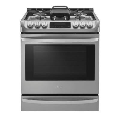 6.3 cu. ft. Gas Slide-In Range with Probake Convection