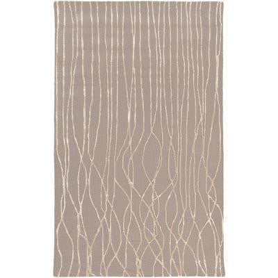 Saillon Gray 2 ft. x 3 ft. Indoor Area Rug
