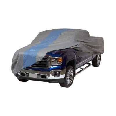 Defender Extended Cab Short Bed Semi-Custom Pickup Truck Cover Fits up to 19 ft. 4 in.