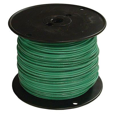 500 ft. 2 Stranded Aluminum THHN Wire - Green