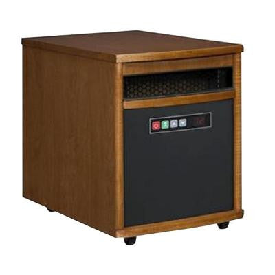 1,500-Watt Portable Electric Infrared Cabinet Heater