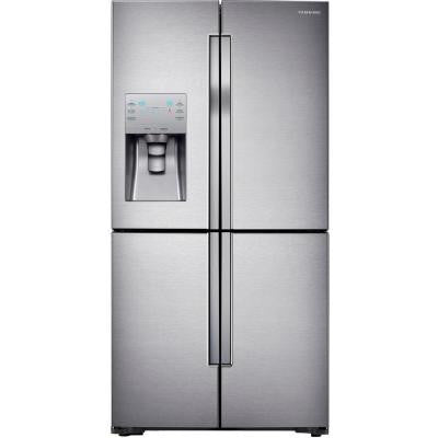 28.1 cu. ft. 4-DoorFlex French Door Refrigerator in Stainless Steel