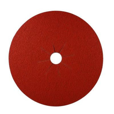 16 in. x 2 in. 36-Grit Sanding Disc (5-Pack)