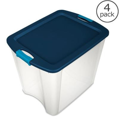 26 Gal. Latch and Carry Tote (4-Pack)