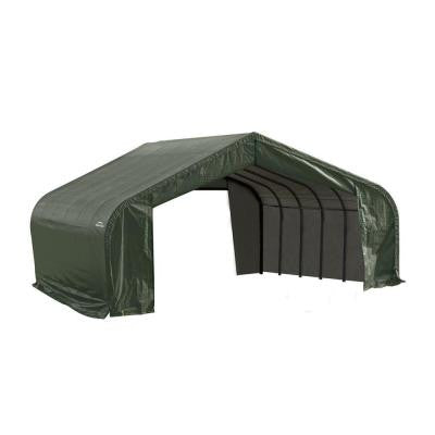 22 ft. x 24 ft. x 13 ft. Green Peak Shelter without Floor
