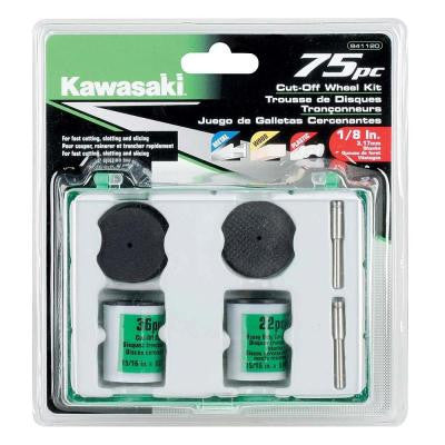 Cut-Off Wheel Kit for Rotary Tools (75-Piece)