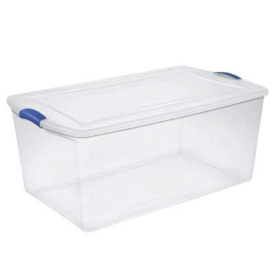 105 qt. Latch Storage Box (4-pack)