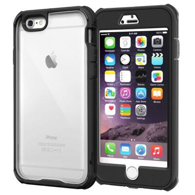 Glacier Tough Hybrid PC TPU Rugged Case for iPhone 6 Plus 5.5 - Black
