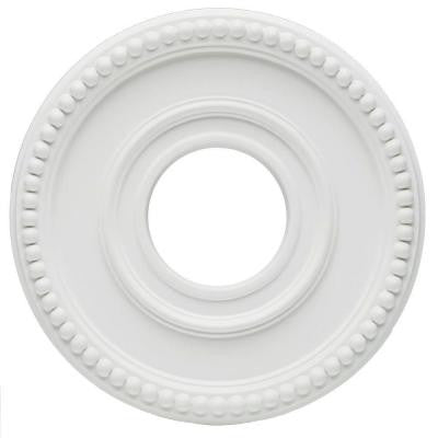 Colonnade 12-3/8 in. White Finish Ceiling Medallion