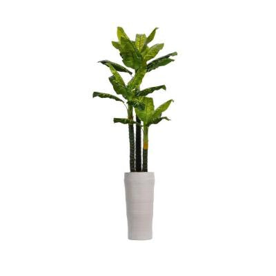 93 in. Tall Real Touch Evergreen in Planter