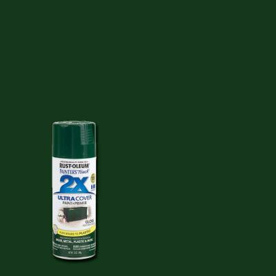 12 oz. Hunter Green Gloss General Purpose Spray Paint (6-Pack)
