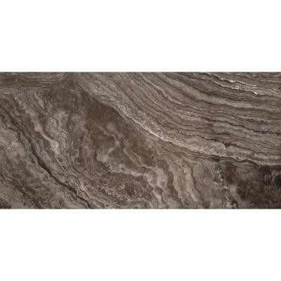 Vero Nero 12 in. x 24 in. Porcelain Floor and Wall Tile (11.64 sq. ft. / case)