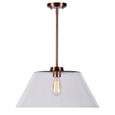 Nancy 1-Light Copper Pendant