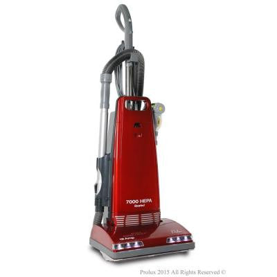 7000 Upright Sealed HEPA Vacuum Cleaner with Tools