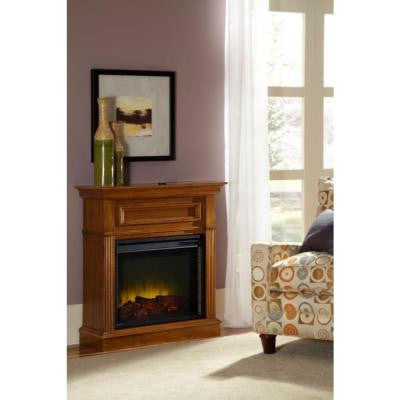 Hawthorne Heritage 34 in. Electric Fireplace in Walnut