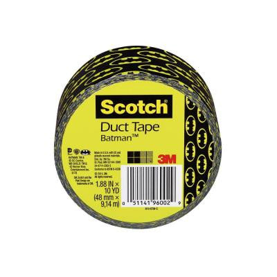 Scotch 1.88 in. x 10 yds. Batman Duct Tape
