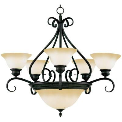 Pacific 7-Light Chandelier
