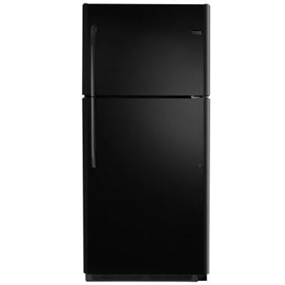 20.5 cu. ft. Top Freezer Refrigerator in Ebony, ENERGY STAR