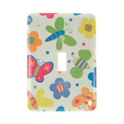 Butterflies 1 Toggle Wall Plate